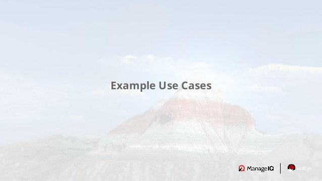 Example Use Cases