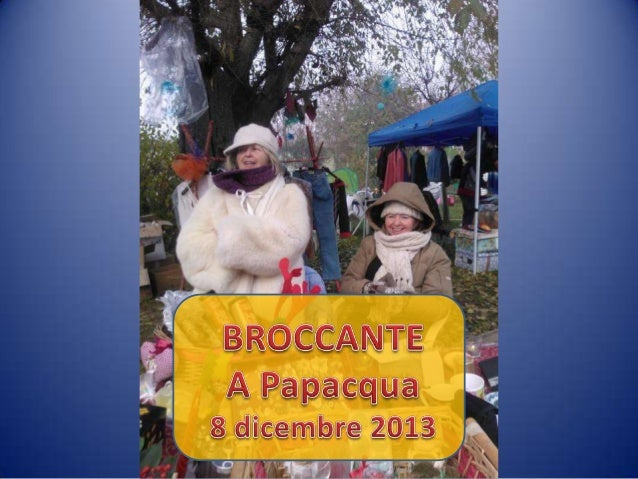 Broccante di Papacqua, dicembre 2013