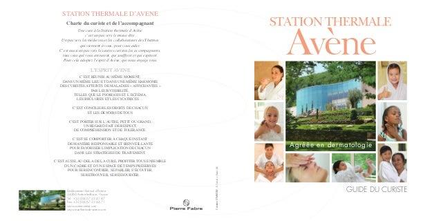 CréationSYMBIOSE-D.Cabrol-J.David-DR. STATION THERMALE D'AVENE Charte du curiste et de l'accompagnant Une cure à la Statio...