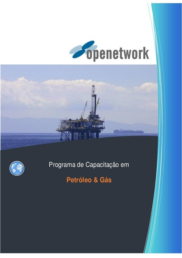 Programa de Capacitação em Petróleo & Gás