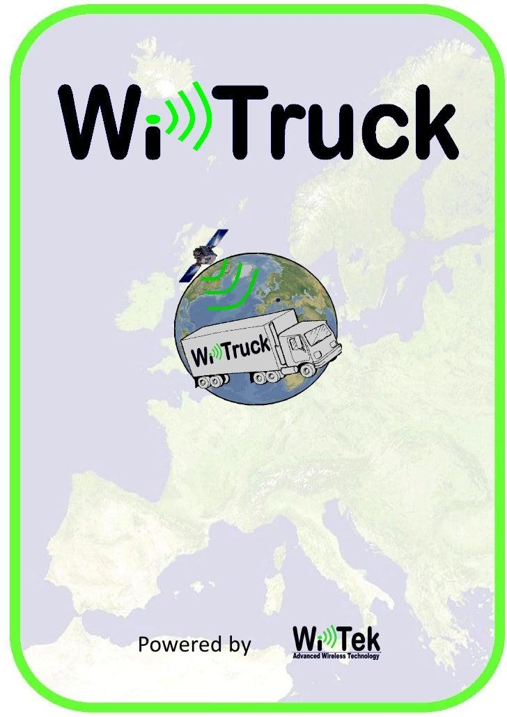 Wi-Tek Group srls  P.IVA: 03549220048  Via San Rocco, 37  12042 - Bra (CN) - Italia  Contatti  Tel : 0172 - 1916222  Fax :...