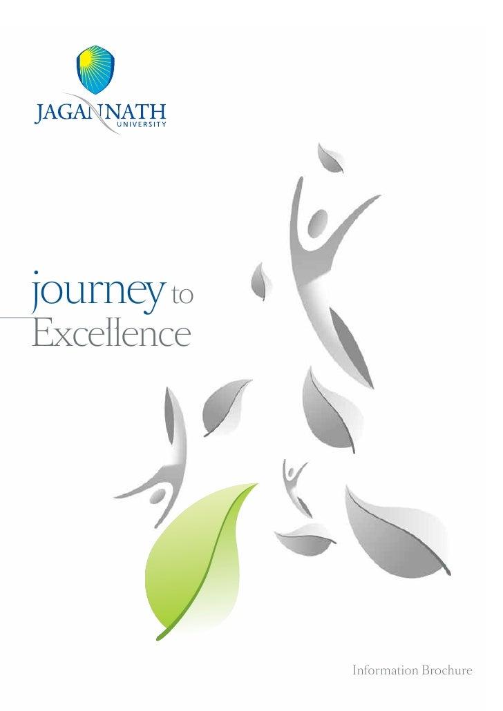 journey toExcellence             Information Brochure