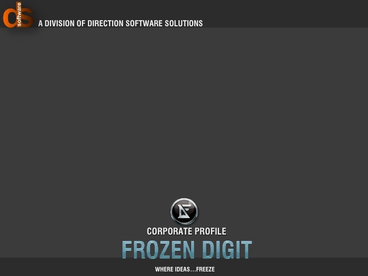 A Division of Direction Software Solutions                                Corporate profile                               ...