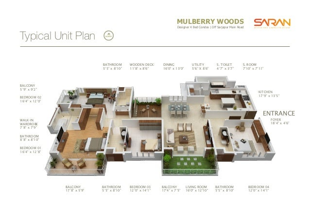 ... Plan ~ NORTH LIFT LOBBY D C ; 8. MULBERRY WOODS ...