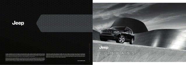 C O M P A S S  13C1JCPSP1620 (9M)  Este catálogo es una publicación del Grupo Chrysler LLC. Todos los derechos reservados ...