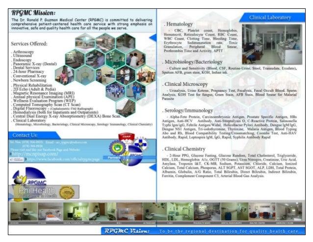 DR. RONALD P. GUZMAN MEDICAL CENTER Enrile Avenue, Carig, Tuguegarao City, Cagayan ao_rpgmc@yahoo.com    304-0926; 304-092...