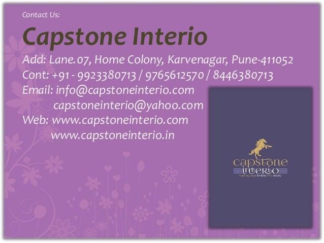 Capstone Interio Brochure