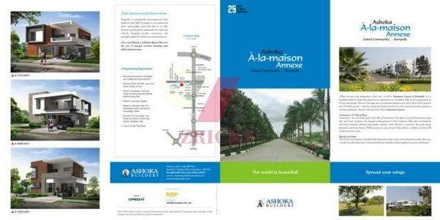 Ashoka A La Maison Annexe Brochure - Zricks.com