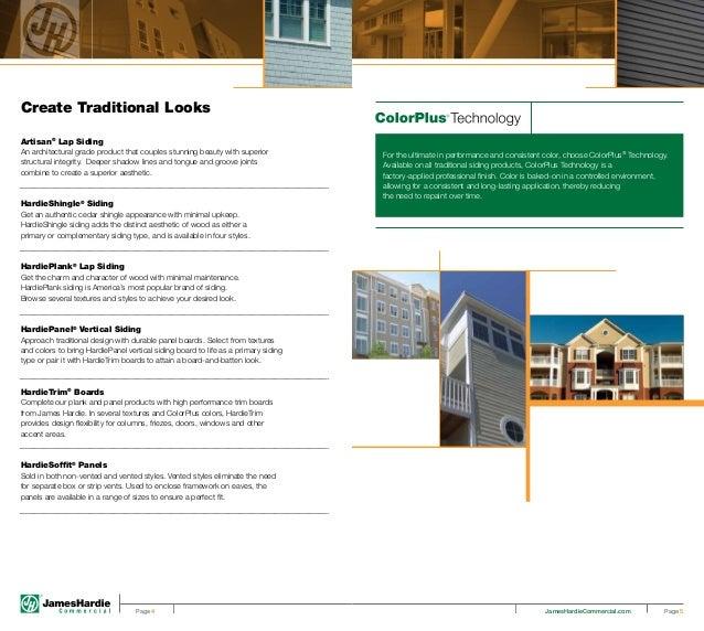 James Hardie Commercial Brochure