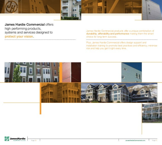 James Hardie Commercial Brochure