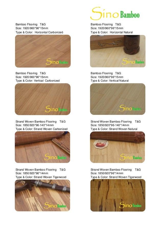 Bamboo Flooring Brochure