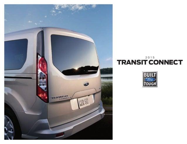 2015 Ford Transit Connect Brochure Farmington Ford Dealership