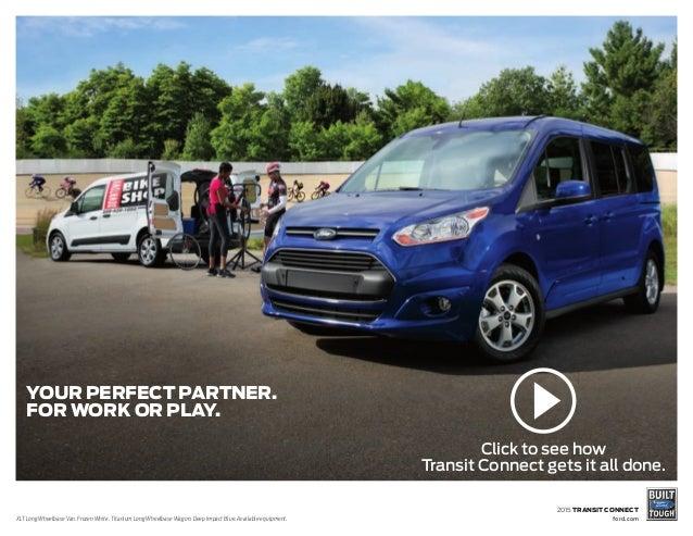 2015 ford transit connect brochure farmington ford dealership. Black Bedroom Furniture Sets. Home Design Ideas