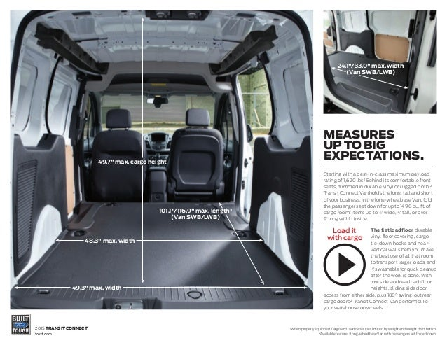 2015 Ford Transit Connect Brochure  Farmington Ford Dealership