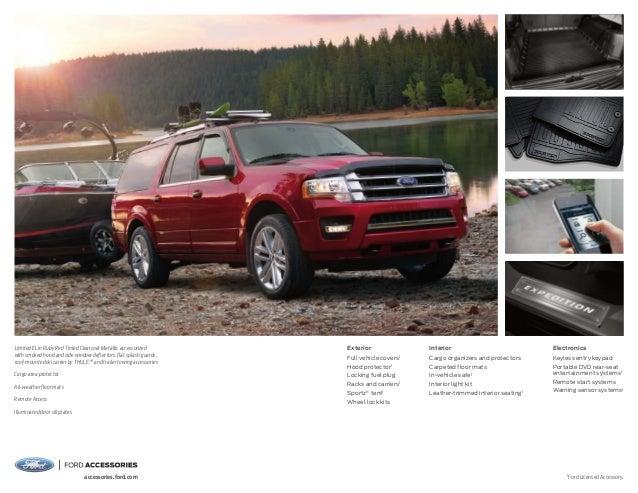 2015 Ford Expedition Brochure Farmington Ford Dealership