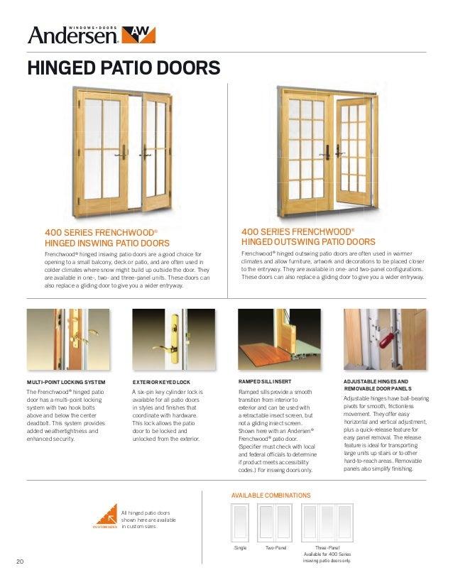 100 andersen patio door screen replacement a series andersen 200 series patio door. Black Bedroom Furniture Sets. Home Design Ideas