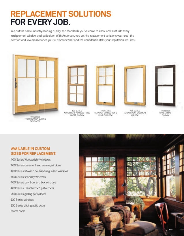 Choosing a patio door is easy andersen windows at the for Andersen 400 series prices