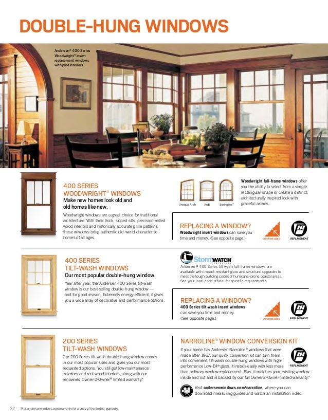 Andersen brochure 400 200 architectural series window door for Andersen windows r value