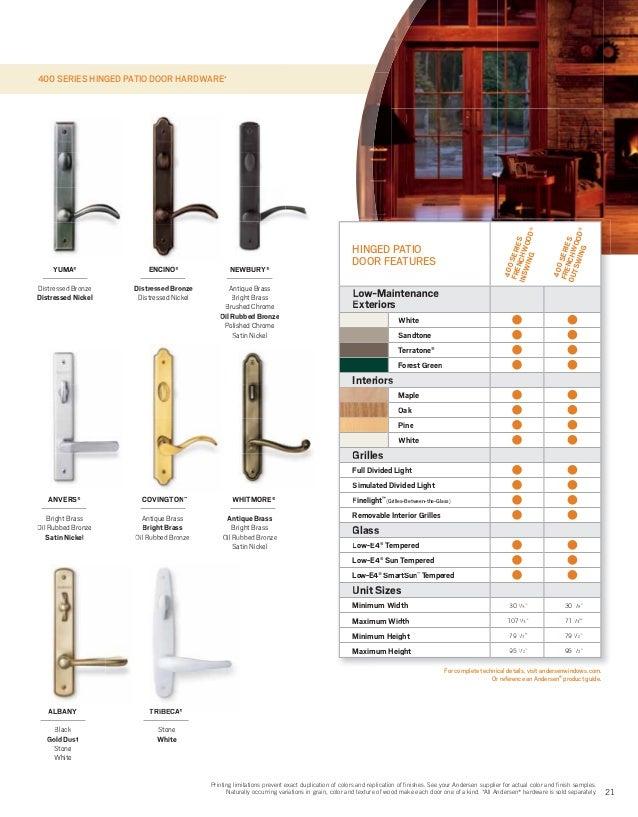 brochure 400 200 series window door replacement 9046528
