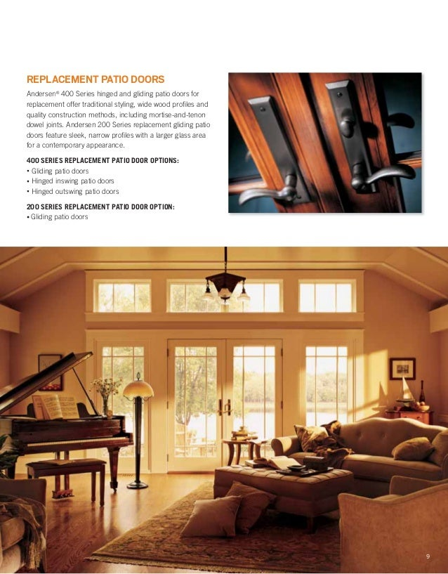brochure 400 200 series window door replacement 9046528