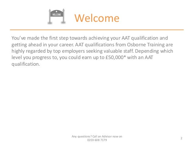 AAT Level 2 | AAT Level 2 Distance Learning | AAT Level 2 ...