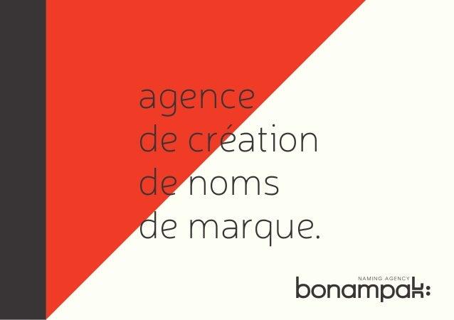 agence de création de noms de marque.