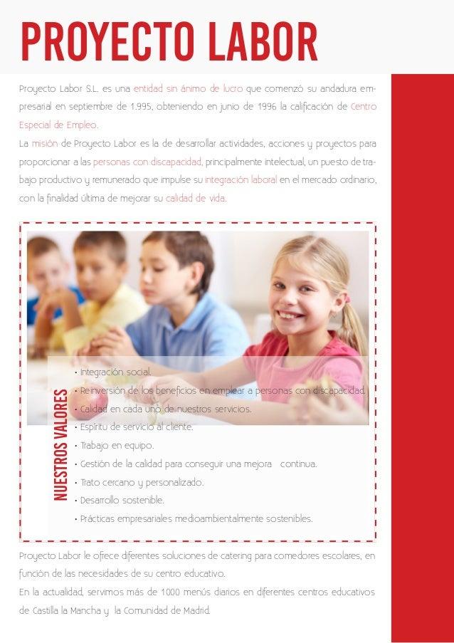 Gestión de Comedores Escolares