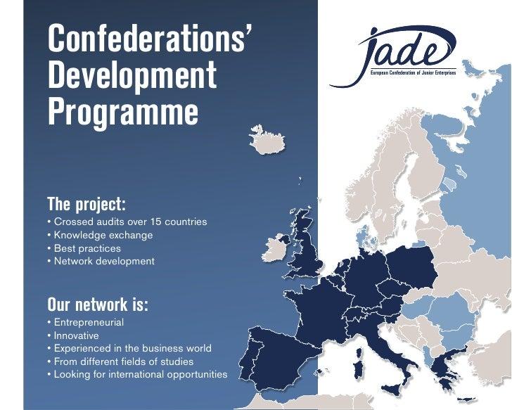 Confederations' Development                                 European Confederation of Junior Enterprises     Programme JAD...