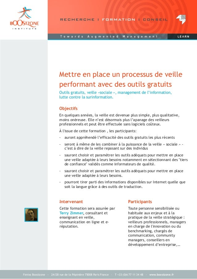 Fenixs Boostzone - 24/28 rue de la Pépinière 75008 Paris France – T +33 (0)6 77 11 34 48 - www.boostzone.frOutils gratuits...