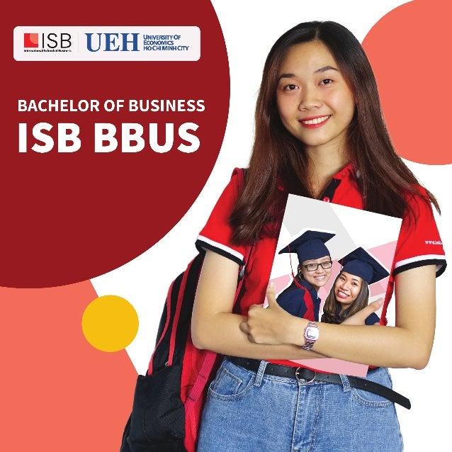 Brochure Cử nhân Tài năng ISB BBUS 2020 | UEH - ISB