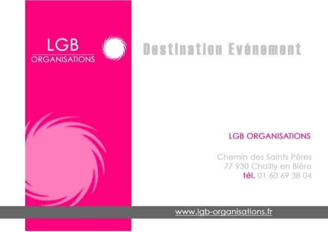 Brochure lgb-2013