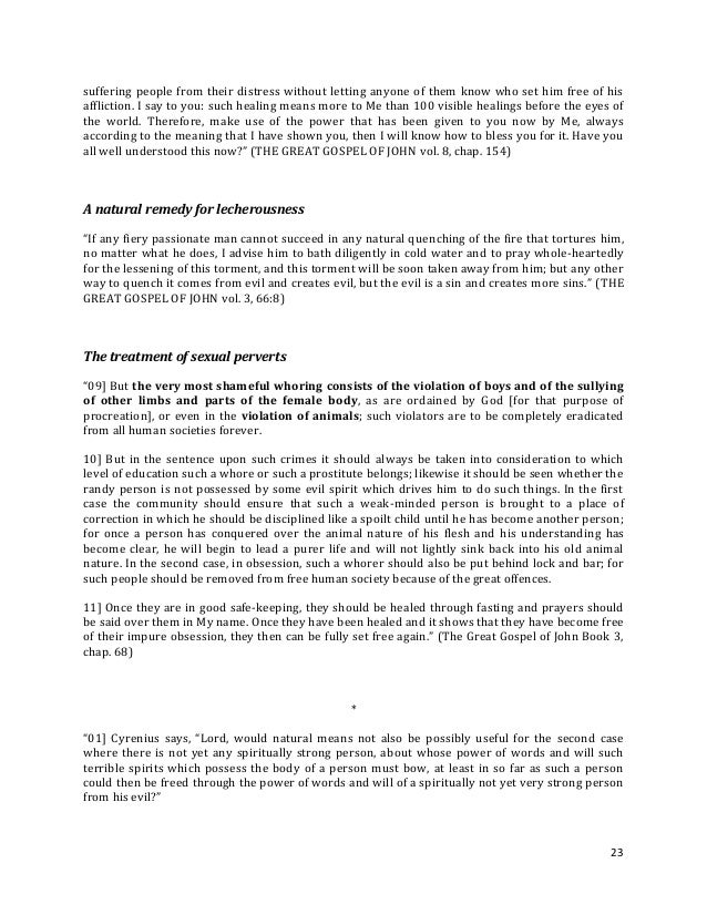 Brochure - NEW REVELATION - About health and sickness - ed 1