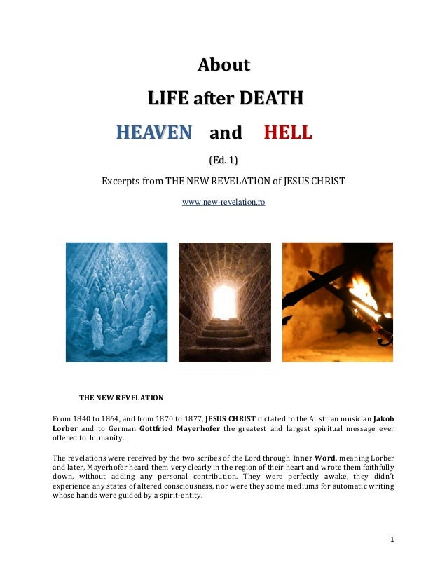 About                           LIFE after DEATH                  HEAVEN and HELL                                         ...