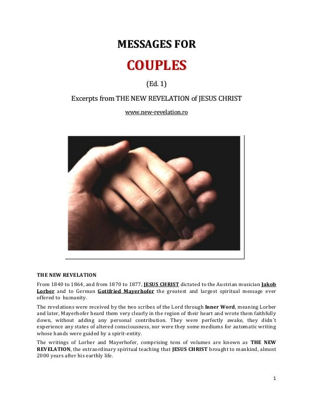 MESSAGES FOR                                     COUPLES                                             (Ed. 1)              ...