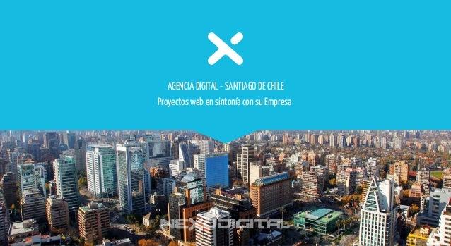 Proyectos web en sintonía con su Empresa AGENCIA DIGITAL - SANTIAGO DE CHILE