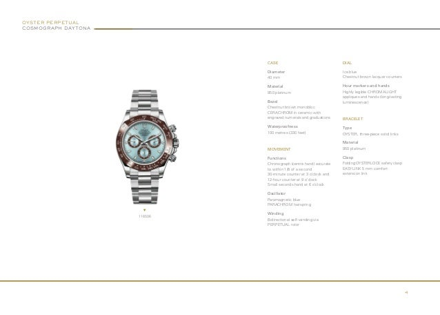 Brochure Nouveautes Baselworld 2013 (English)