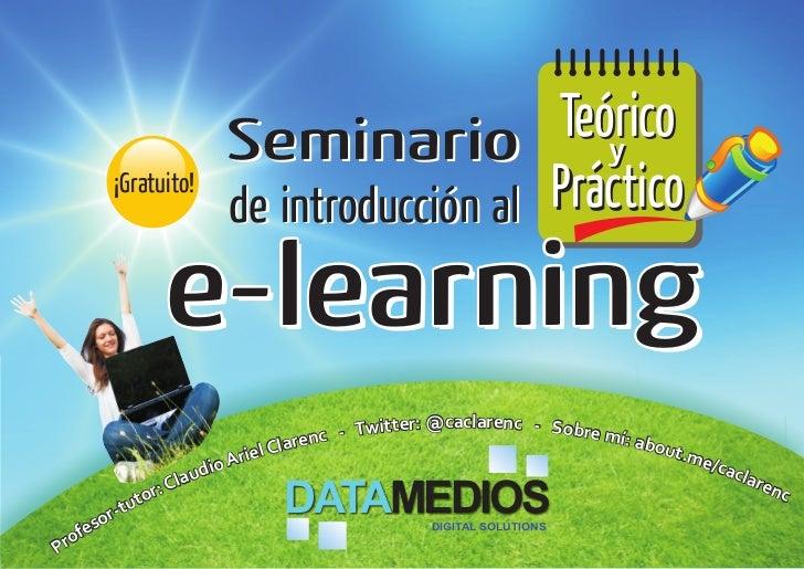 Seminario          Teórico                                            y       ¡Gratuito!                      de introducc...