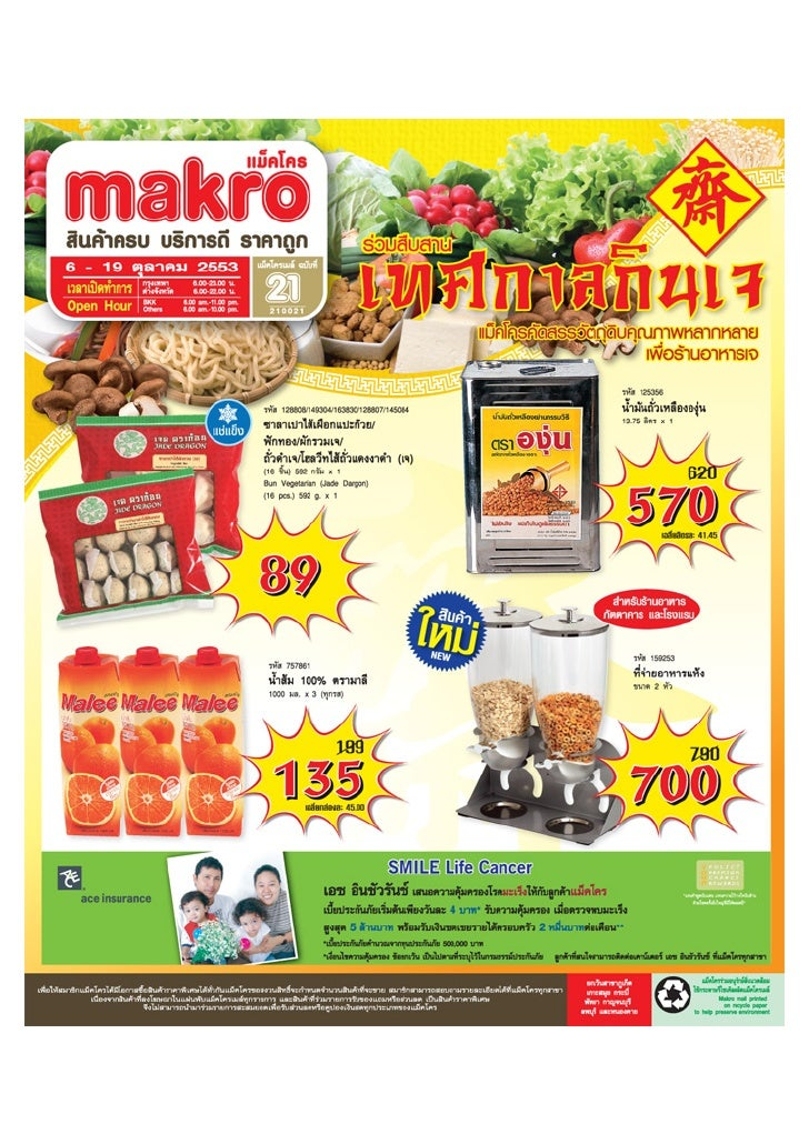 Brochure promotion Makro mail issue 21