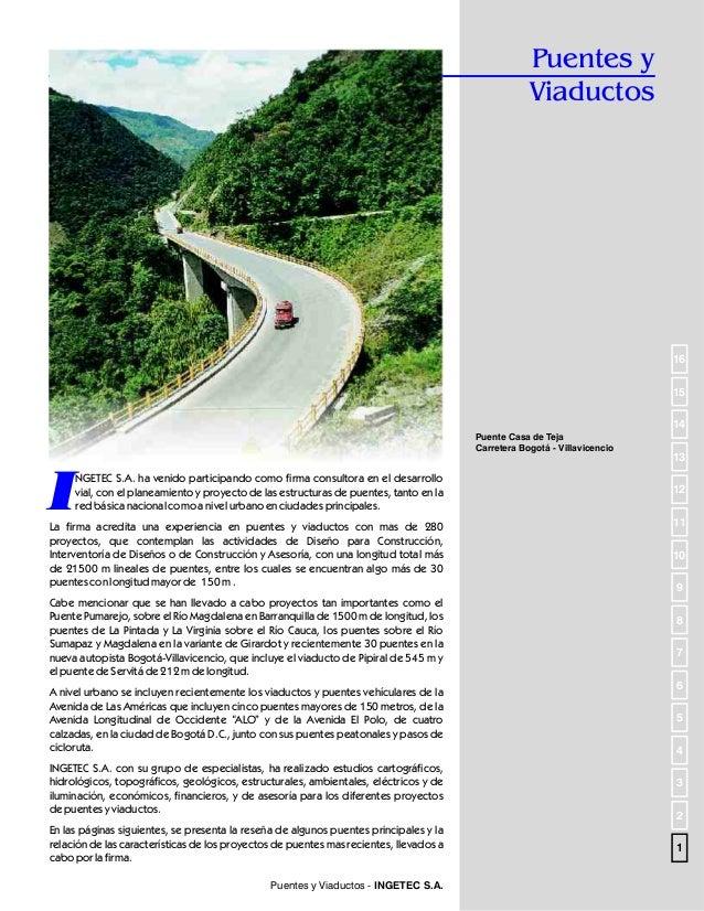 Puentes en Concreto  Puente Alfonso Lopez Pumarejo  (B/quilla)  I  NGETEC S.A. en Consorcio con TAMS de New York, realizó ...