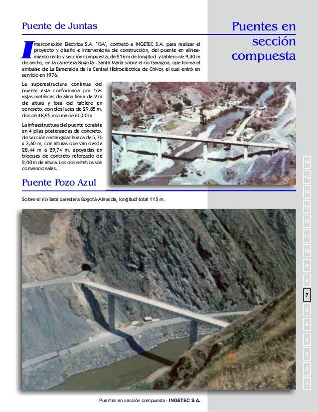 Puentes metálicos  Puente sobre el río Catatumbo  I  NGETEC S.A. fue contratado por Colombian Petroleum Company para ejecu...