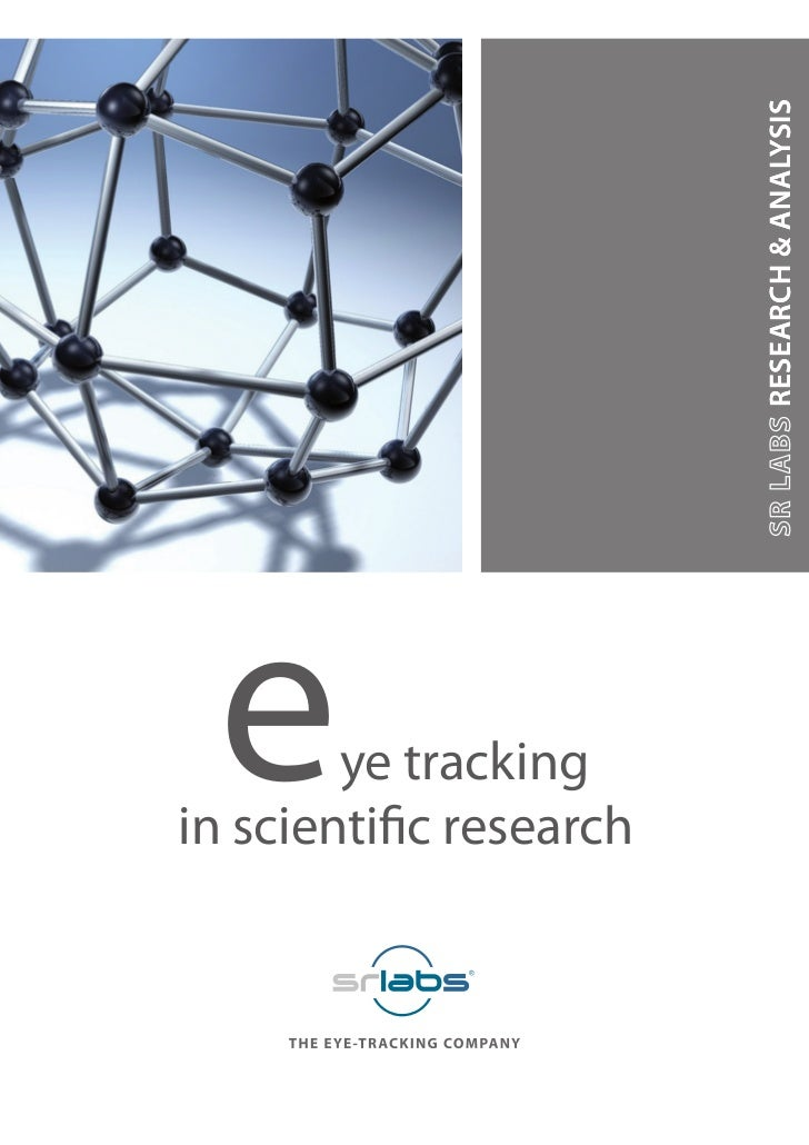 e      ye tracking      RESEARCH & ANALYSISin scientific research