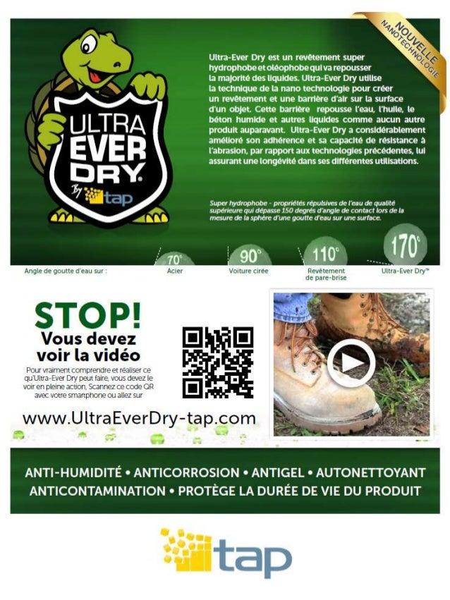 Brochure ultraeverdry-tap.com