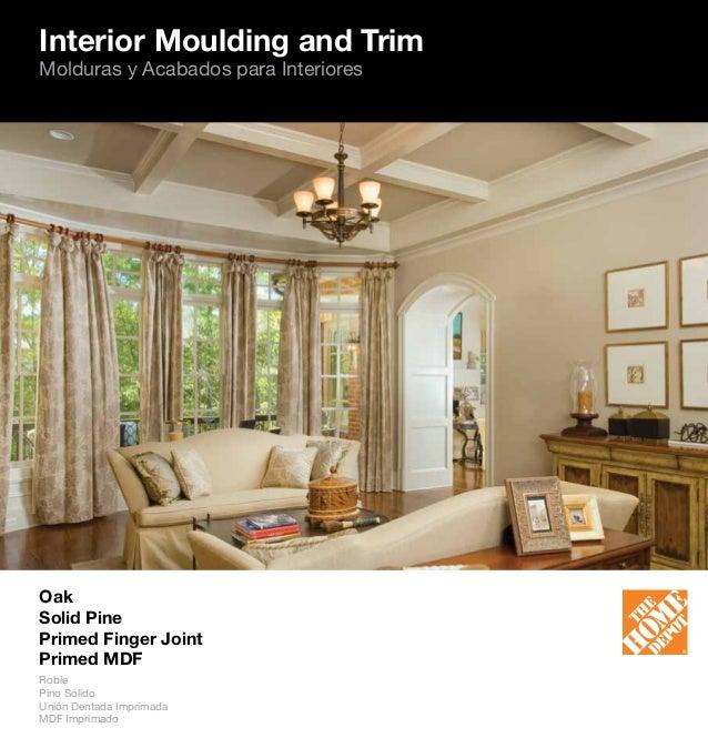 Home Depot Catalogue: The Home Depot Moulding Catalog