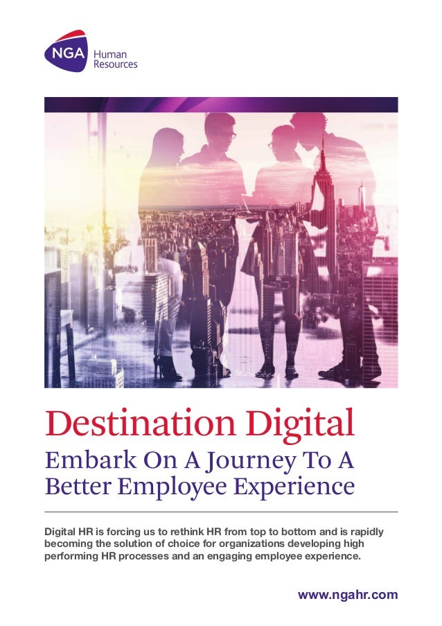 Digital HR is forcing us to rethink HR from top to bottom and is rapidly becoming the solution of choice for organizations...
