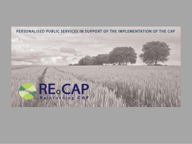 RECAP Horizon 2020 Project - Brochure