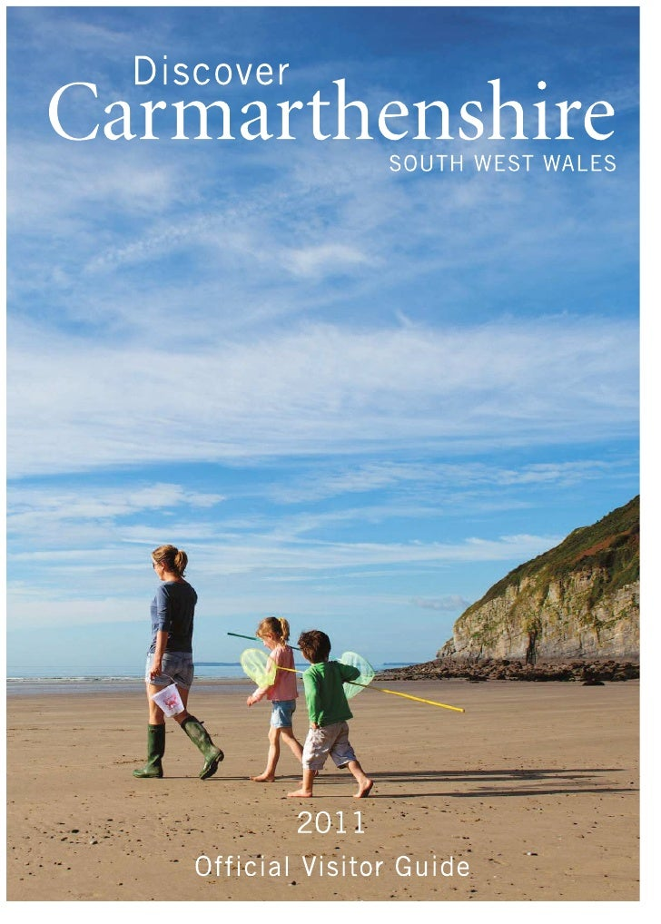 Discover Carmarthenshire Brochure2011
