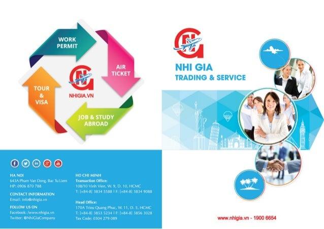 Brochure 2015 - Nhi Gia Co., Ltd