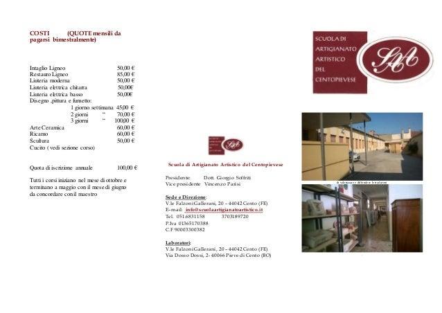 Brochure  Corsi 2019/20 Slide 2