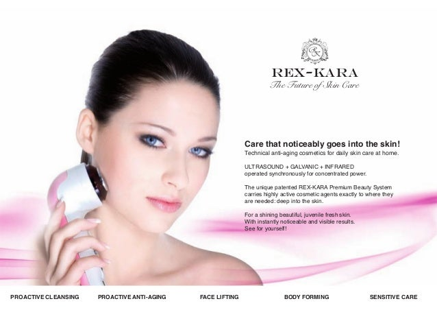 REX-KARA  The Future of Skin Care  Care that noticeably goes into the skin! Technical anti-aging cosmetics for daily skin ...