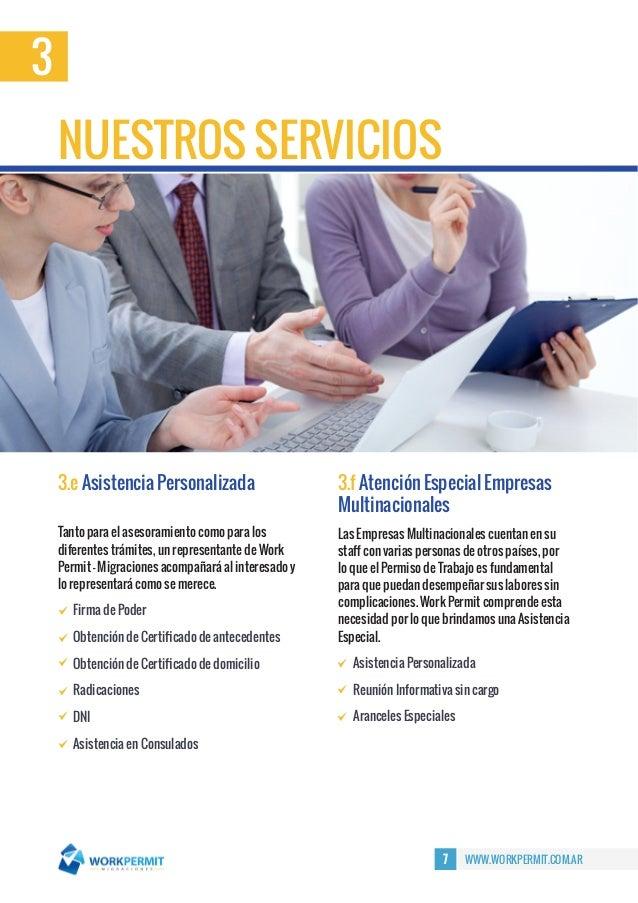 Presentaci N Comercial Work Permit Migraciones